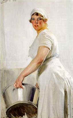 Diskerkan by Anders Zorn