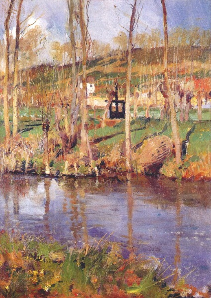 William Blair Bruce, Sur l'Epte, Giverny