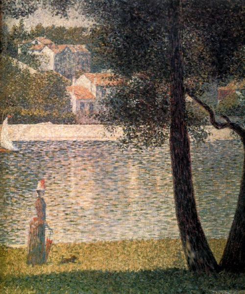Georges Seurat, The Seine at Courbevoie