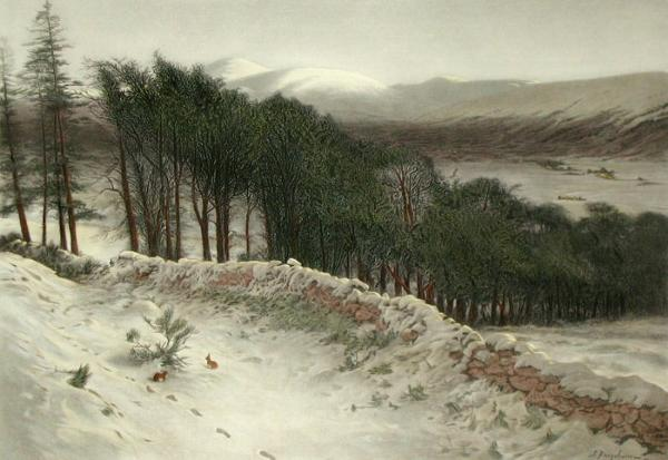 Joseph Farquharson, Where Winter Holds its Sway