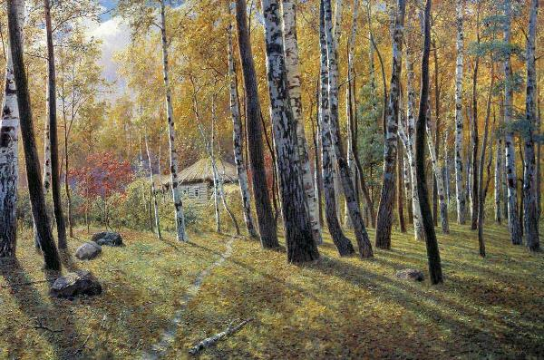 Alexander Kiselev, Autumn in the Forest