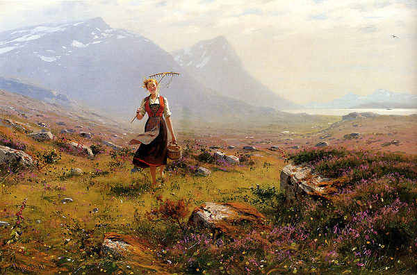 Hans Dahl, Returning from the Fields