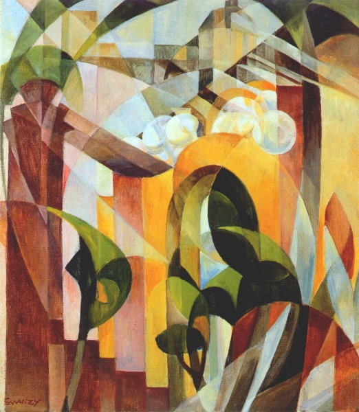 Mary Swanzy, Cubist Landscape